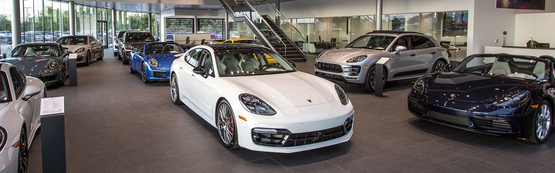 Porsche North Houston Interior Showroom Panamera Turbo