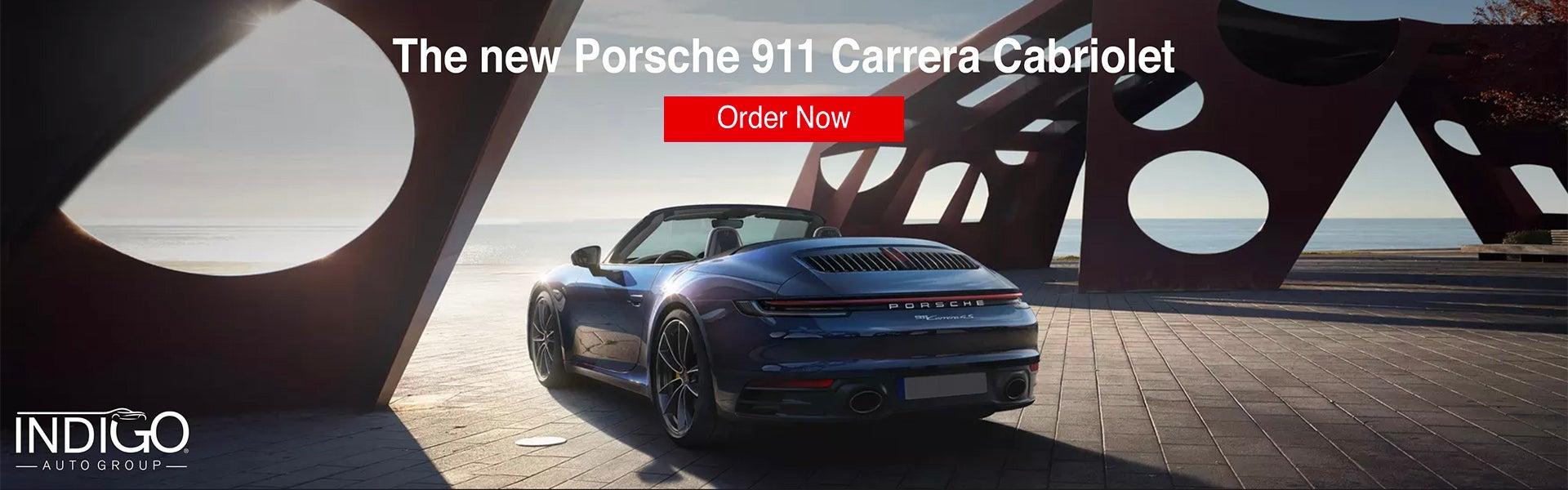2020 Porsche 911 Carrera Cabriolet Order Now