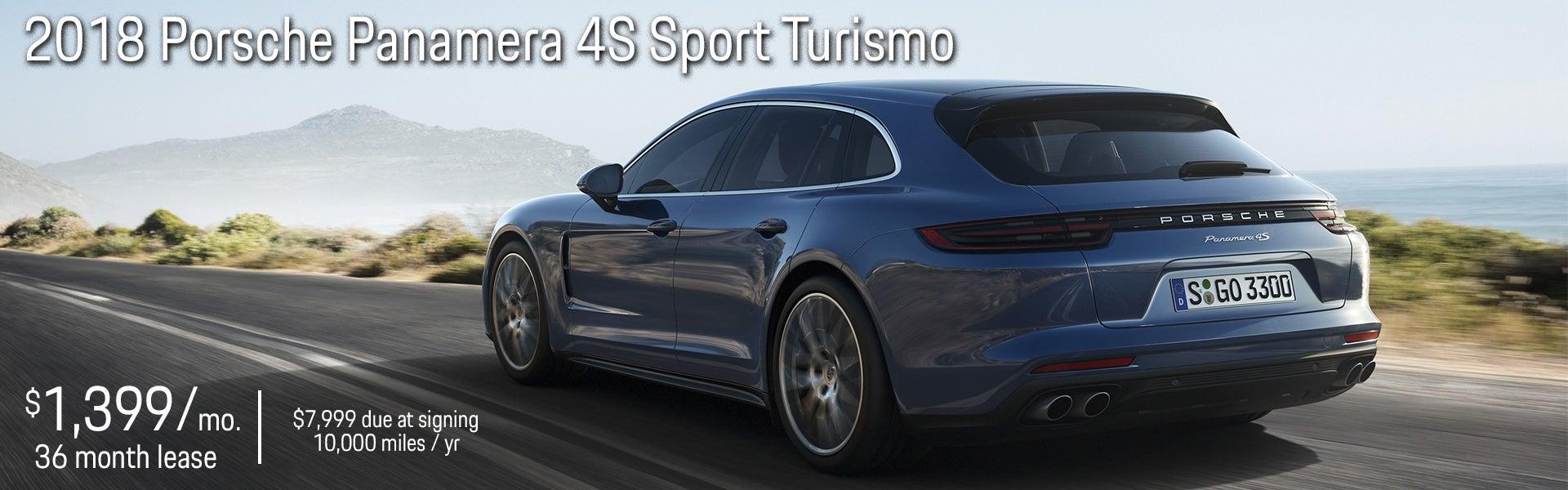 Porsche Panamera 4s Sport Turismo Lease Special